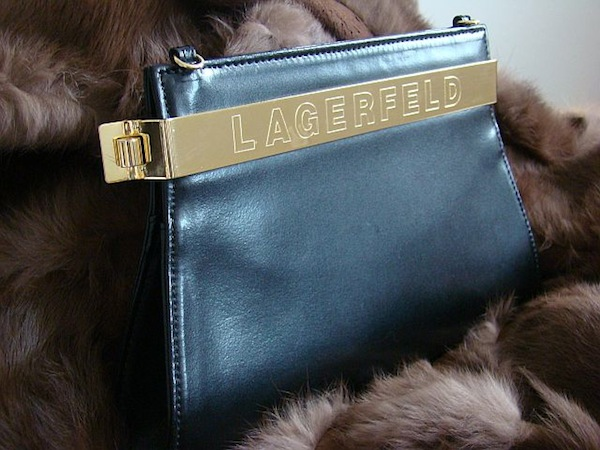 Beloved Lagerfeld clutch
