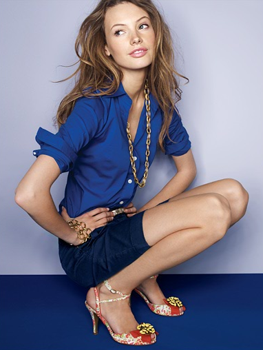 Blues from the J.Crew 2008 lookbook