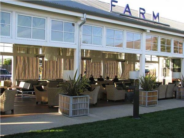 Napa the carneros inn and angelo s feather factor for Farm at carneros inn