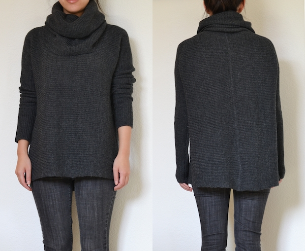 vince cowl neck sweater | Feather Factor